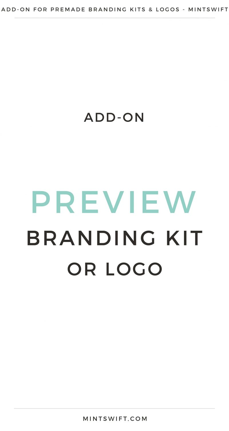 Preview Branding Kit or Logo