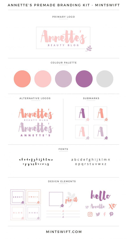 Annette's Premade Branding Kit