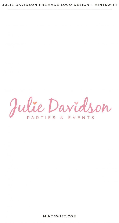 Julie Davidson Premade Logo