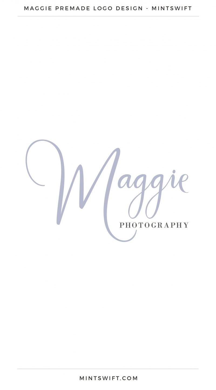 Maggie Premade Logo – MintSwift