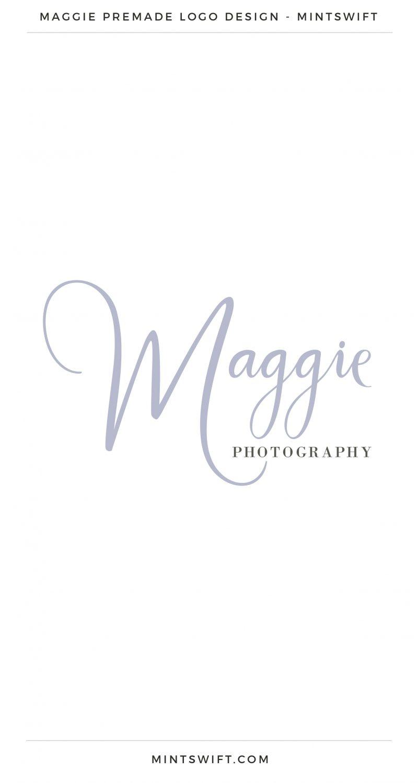 Maggie Premade Logo