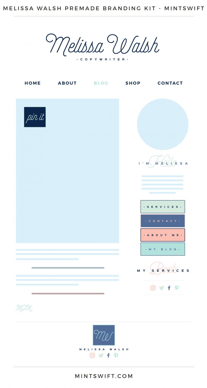Melissa Walsh Premade Branding Kit
