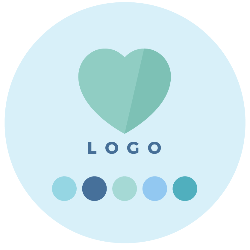 Step 4 - Logo Design + Colour Palette Design - Brand & Website Design Package Process - MintSwift