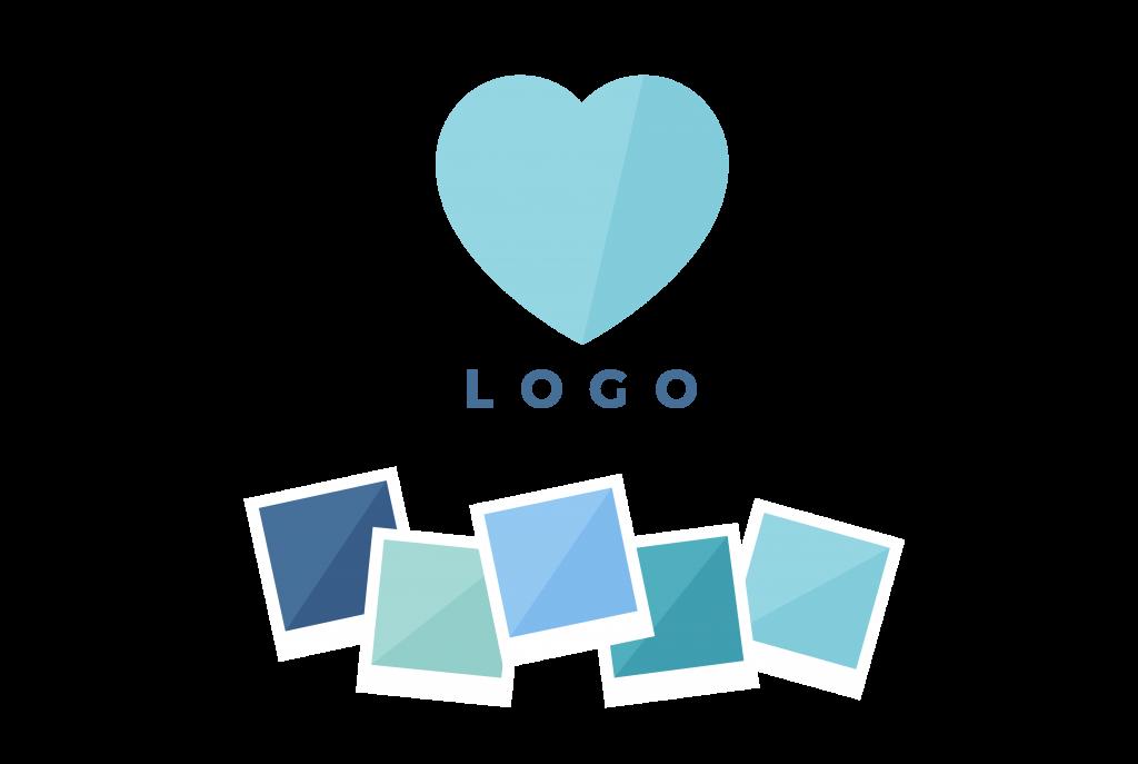 Logo Design + Colour Palette Design - Brand & Website Design Package - Process & Deliverables - MintSwift