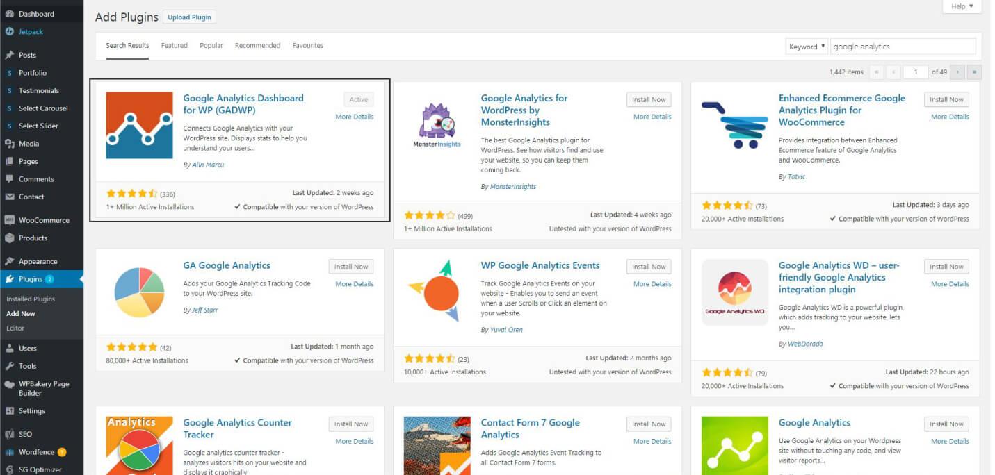 Install Google Analytics WordPress Plugin - How to Add Google Analytics to WordPress – MintSwift