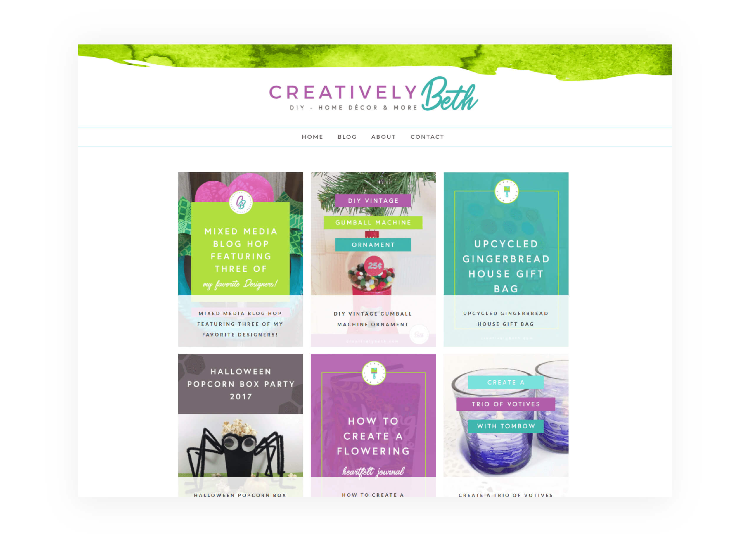 Creatively Beth - Blog Categories Archives - MintSwift