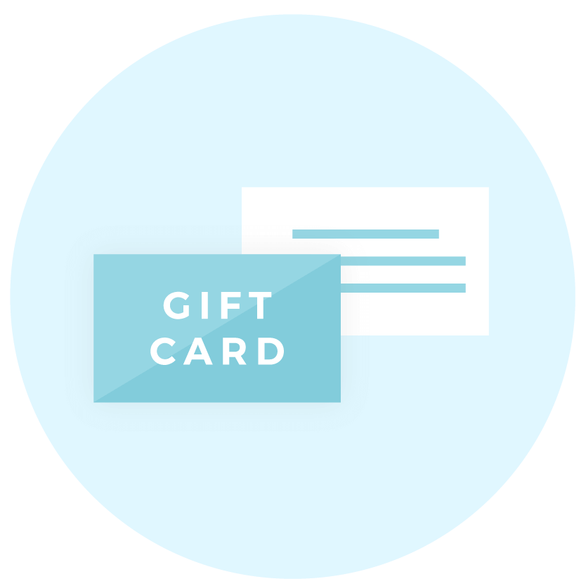 Gift card icon - Brand collaterals - MintSwift