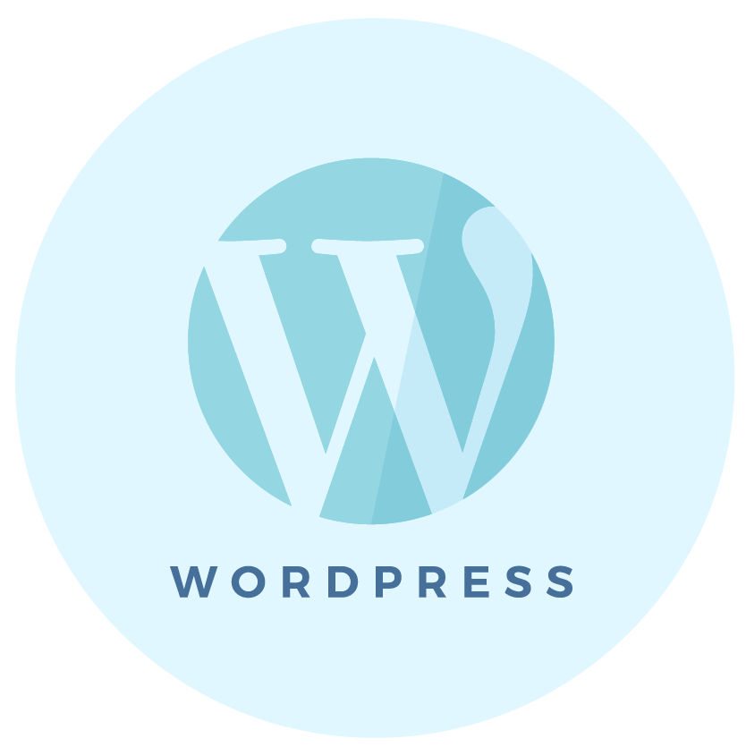 WordPress website design icon - MintSwift