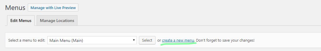How to Create a Navigation Menu in WordPress - 2 - MintSwift