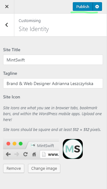 How to Add a Favicon to WordPress Blog & Website - 5 - MintSwift