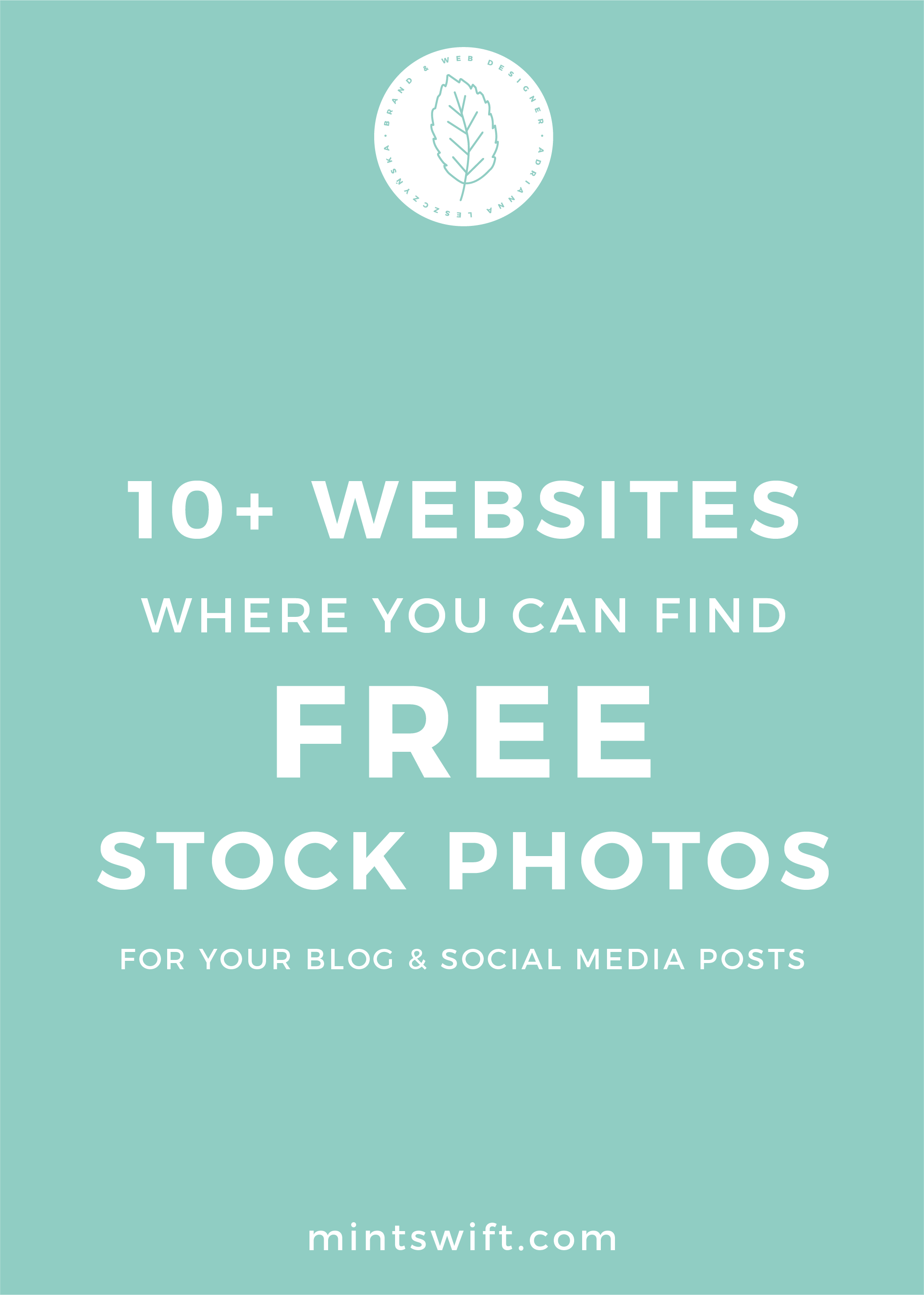 10+ Websites Where You Can Find Free Stock Photos for Your Blog and Social Media Posts - MintSwift