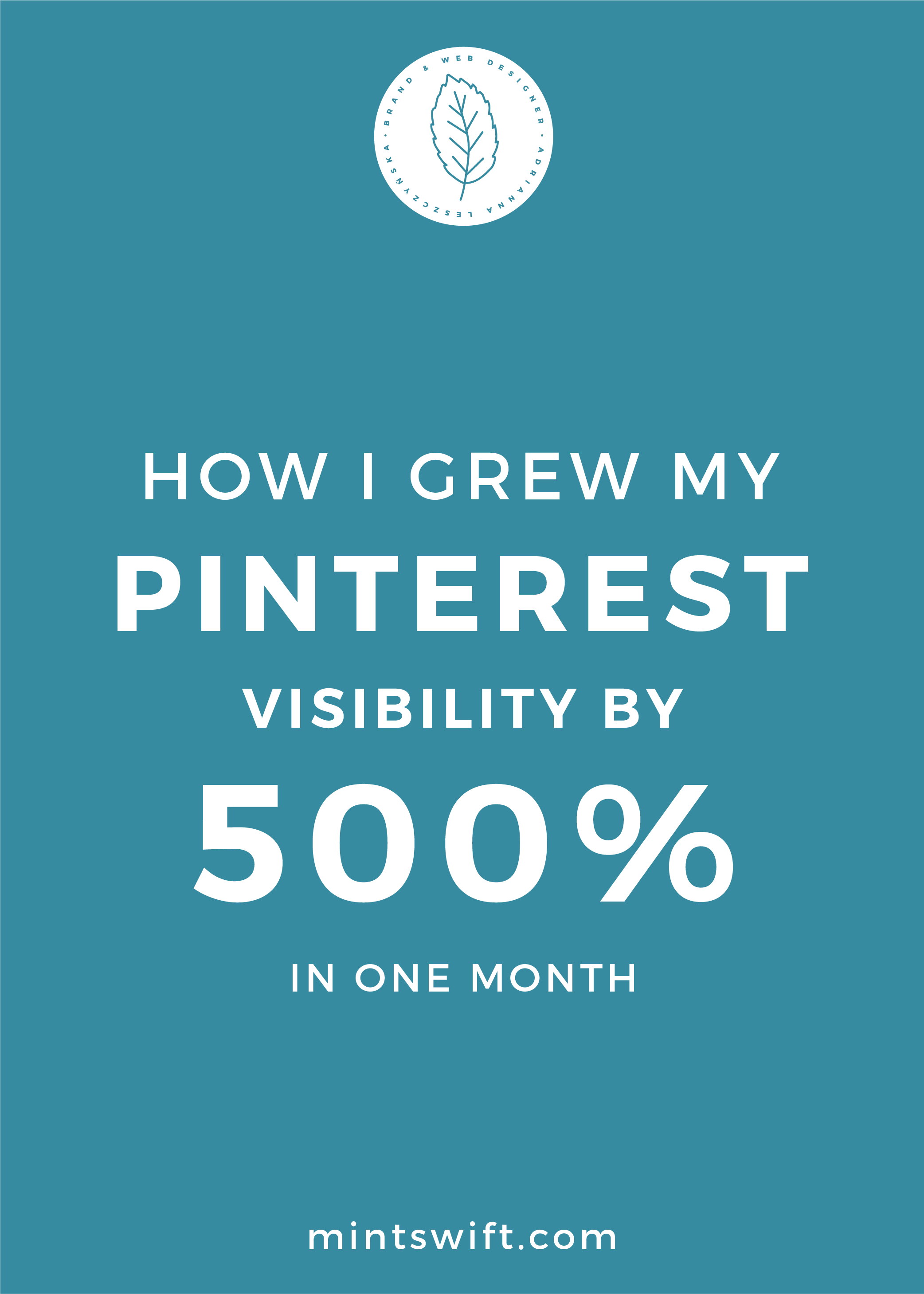 How I Grew My Pinterest Visibility by 500% in One Month - MintSwift