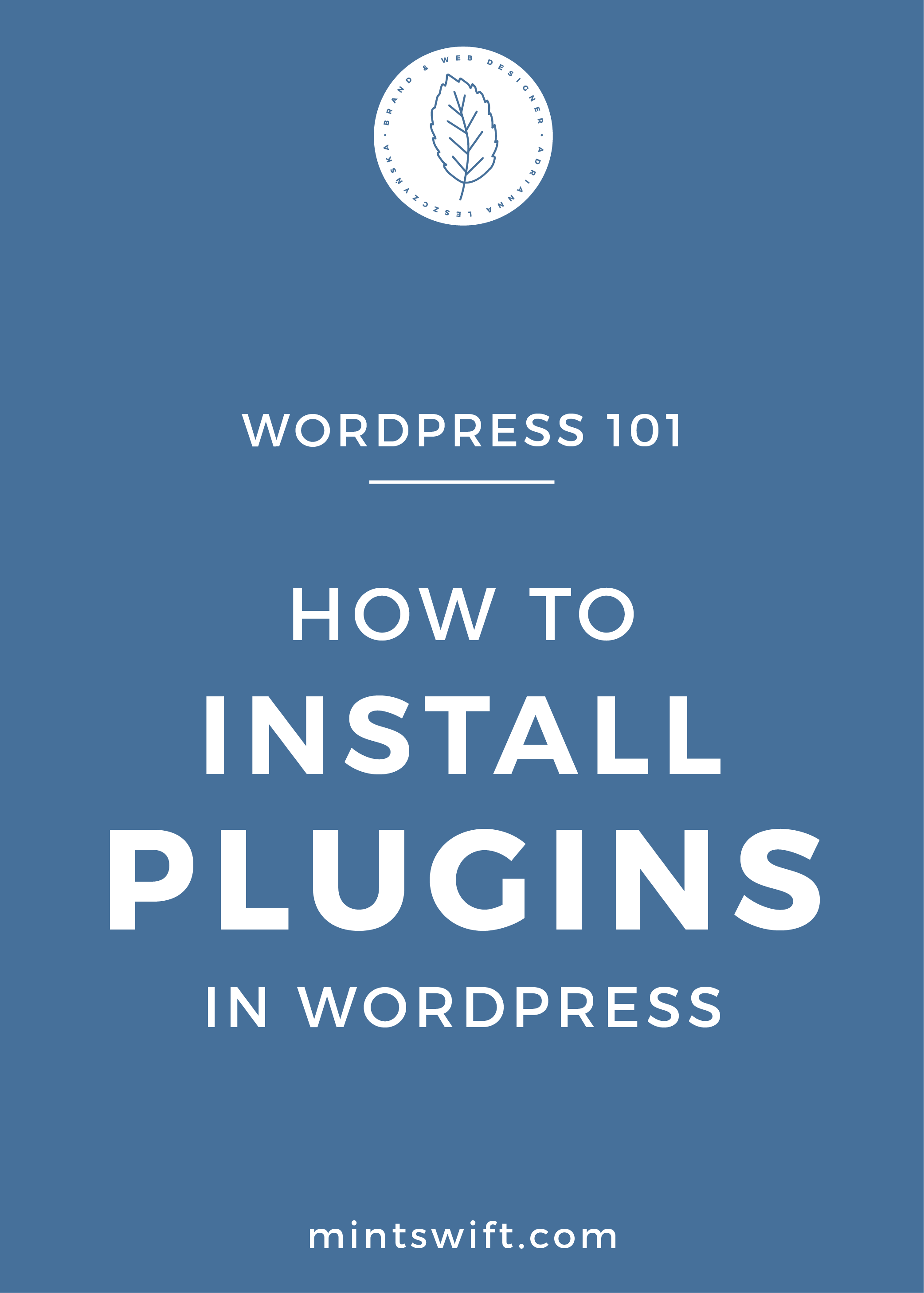 How to Install Plugins in WordPress - MintSwift