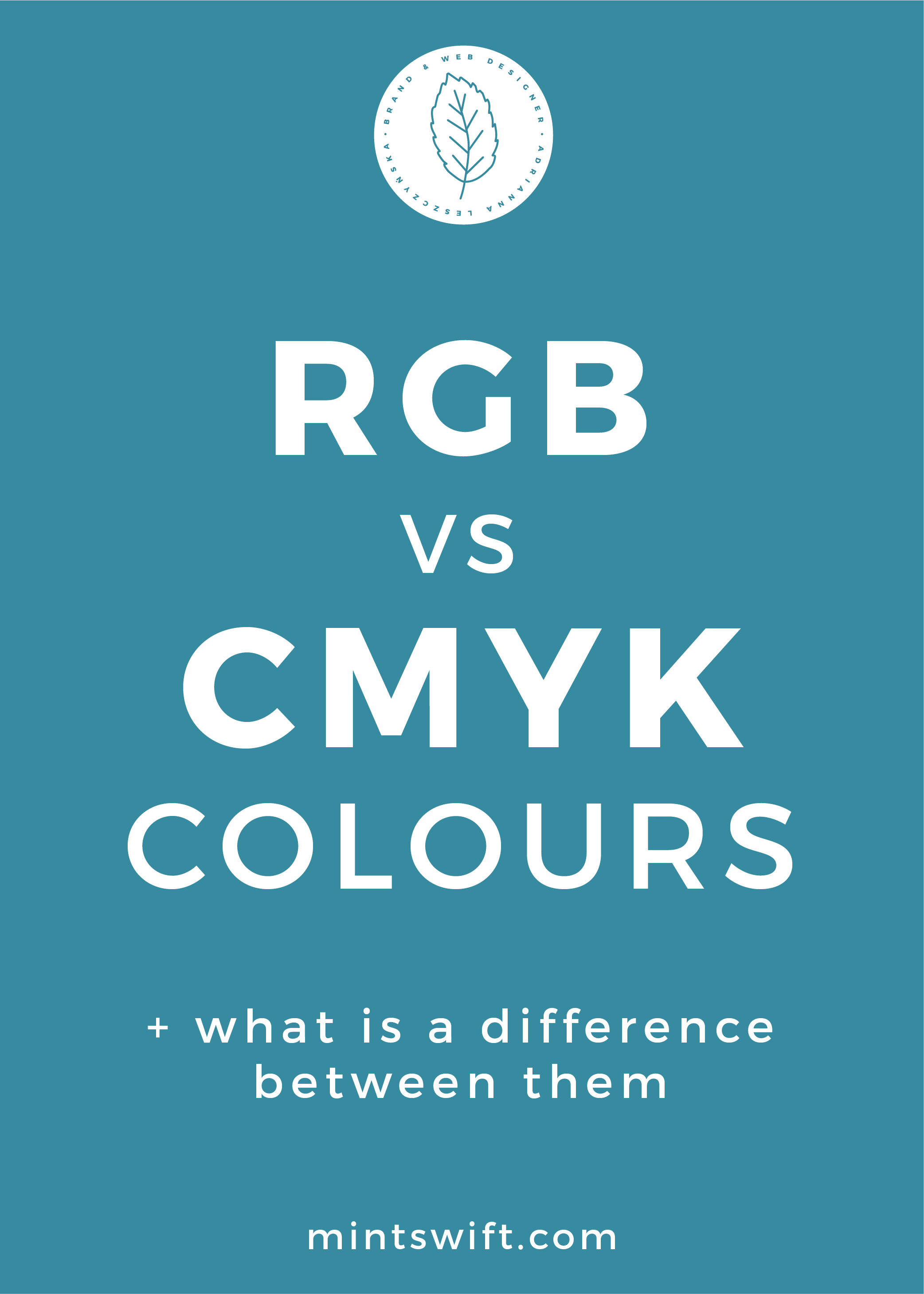 RGB vs CMYK Colours + What is a Difference Between Them - MintSwift