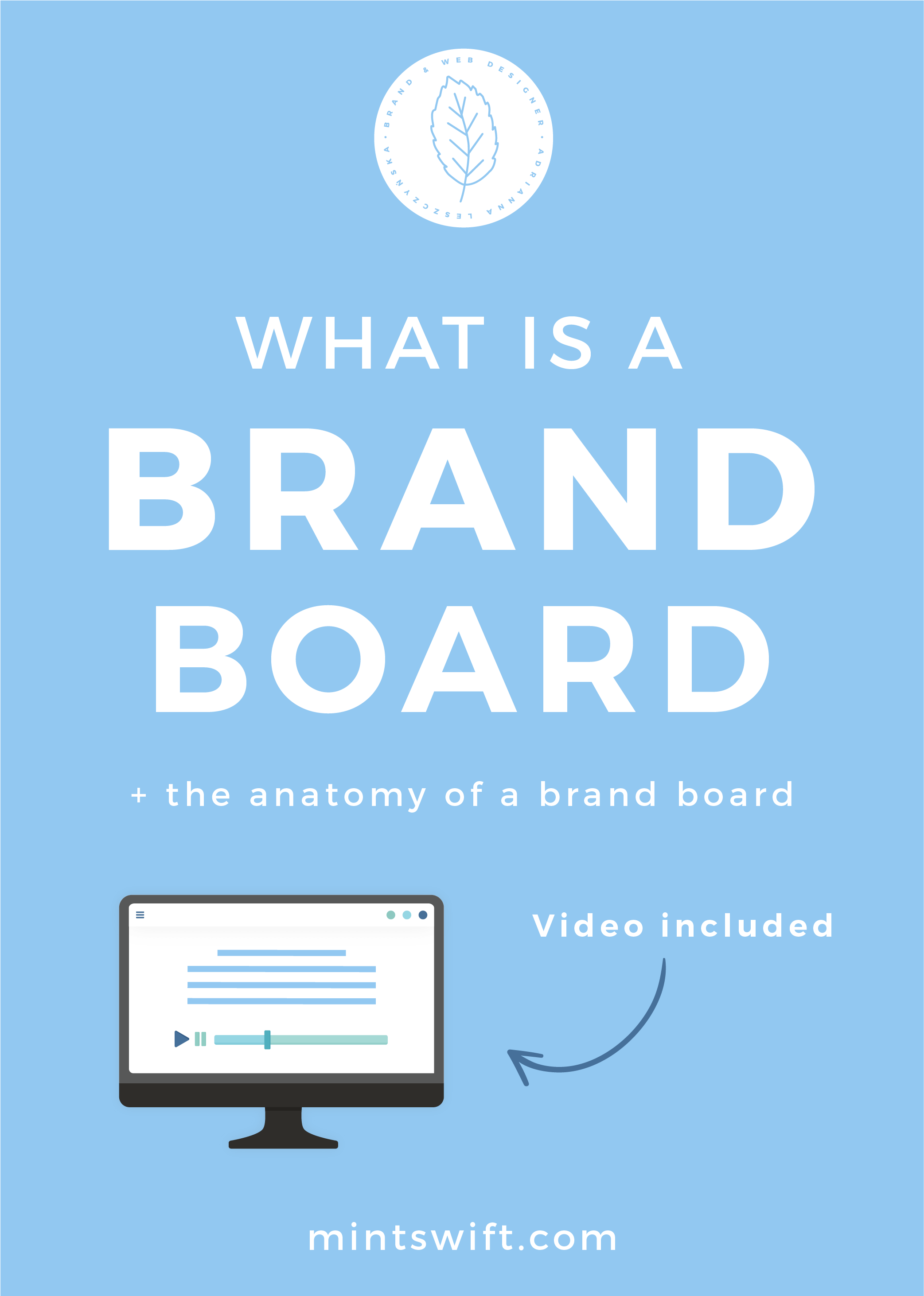 What is a Brand Board + The Anatomy of a Brand Board - MintSwift