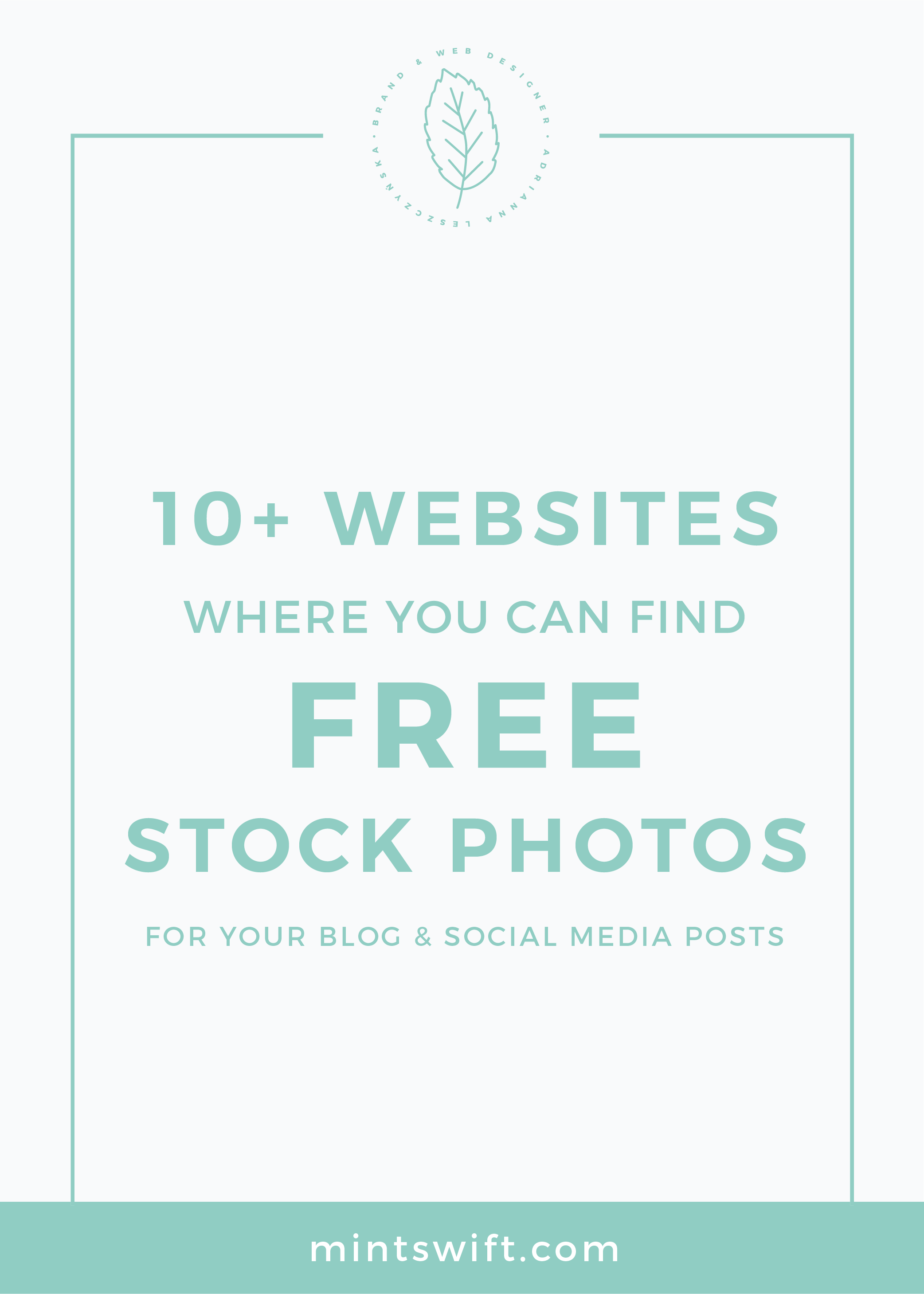 10+ Websites Where You Can Find Free Stock Photos for Your Blog and Social Media Posts MintSwift