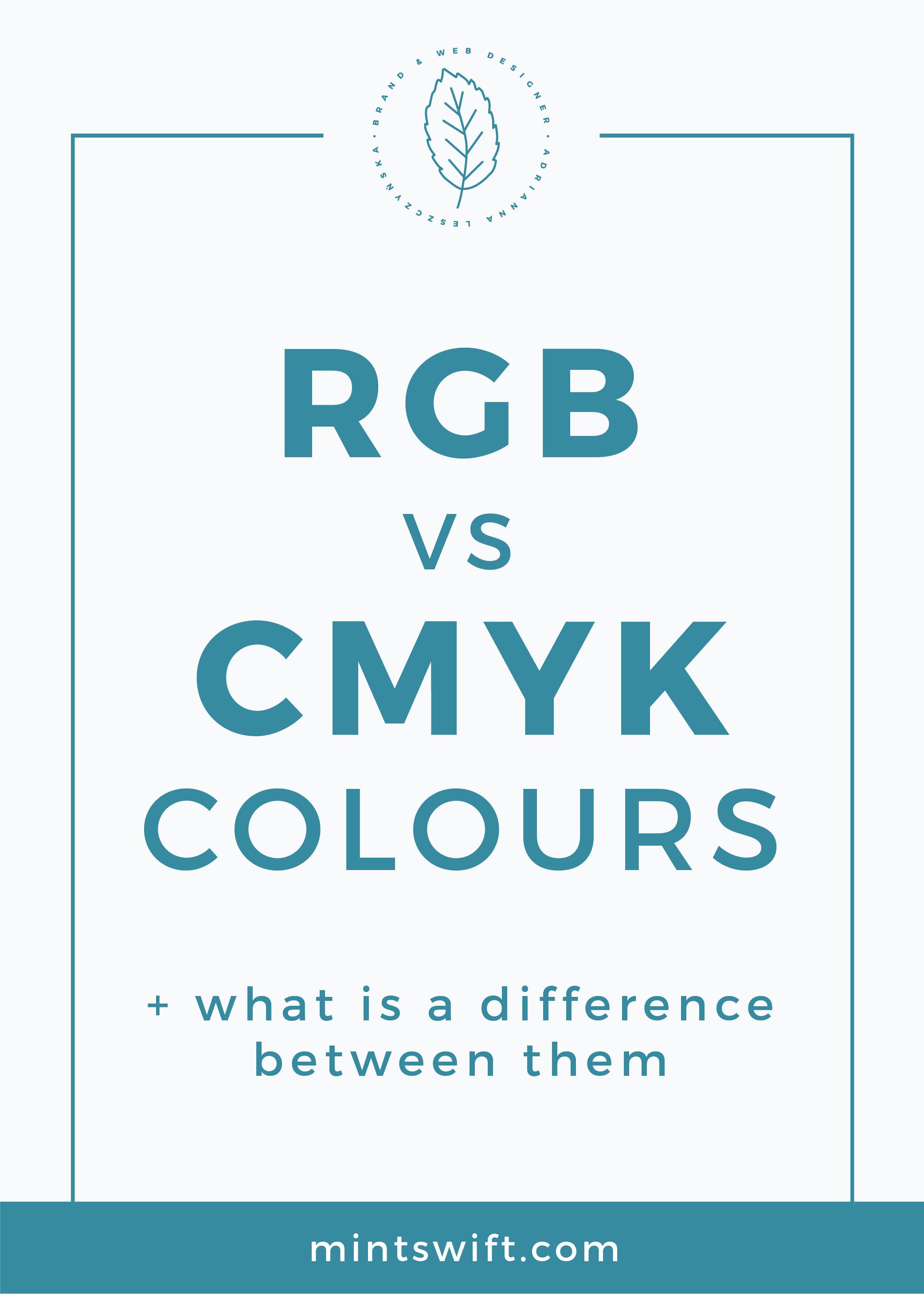 RGB vs CMYK Colours + What is a Difference Between Them MintSwift