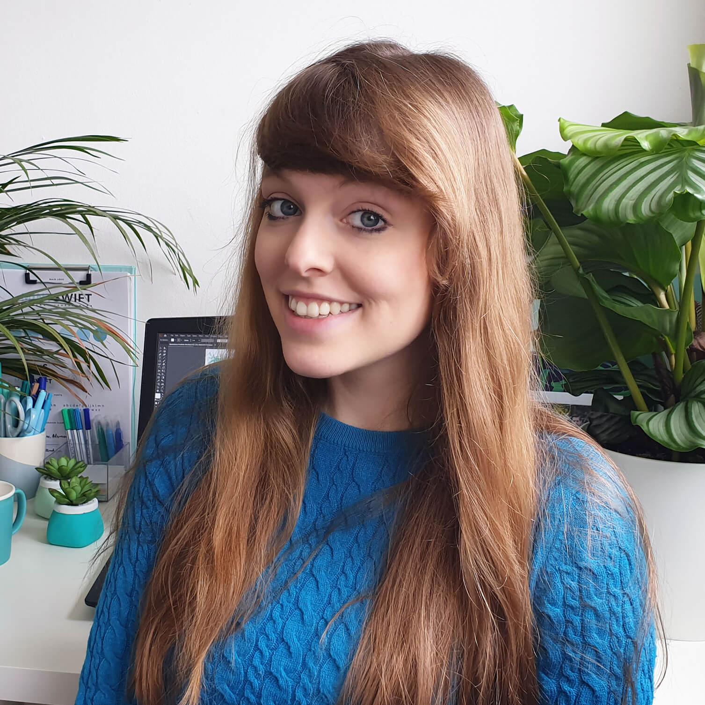 Adrianna Leszczynska of MintSwift - London Based Freelance Illustrator - Profile Picture